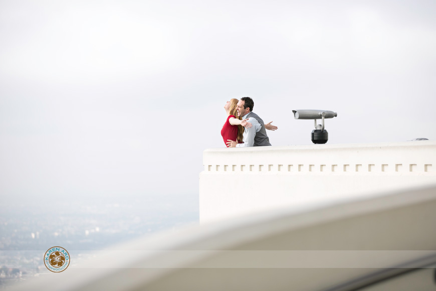 griffith park observatory engagement photography.jpg