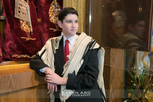 sinai temple bar mitzvah portraits