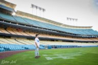 portraits at dodger stadium