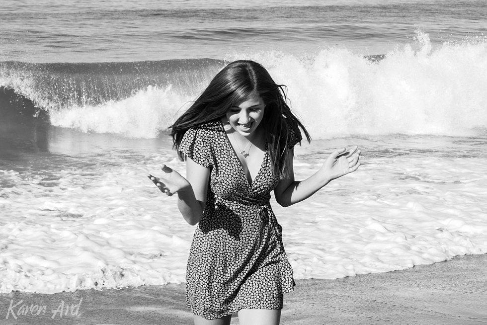 teen portraits at the beach
