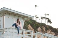 malibu beach portraits