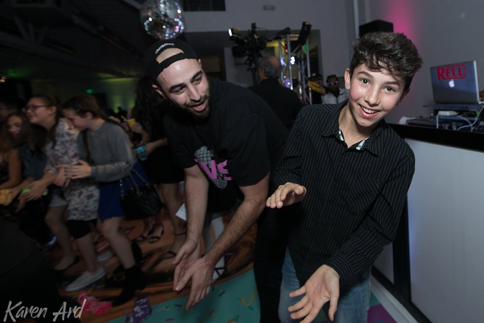bat mitzvah at smashbox studios